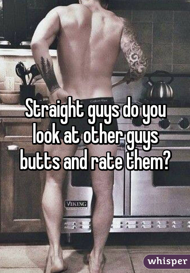 Straight Boy Butt