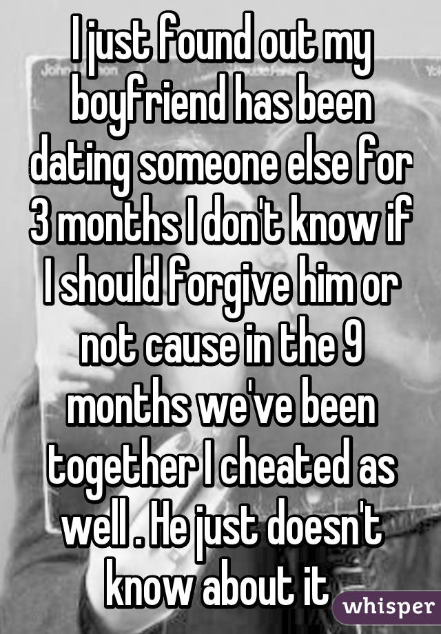 Been Dating Someone For 3 Months