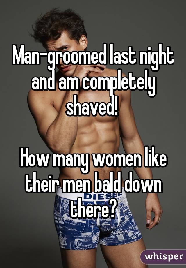 Shaved men women apologise, but