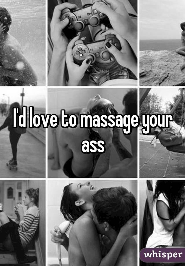 Speaking, Massaging his asshole