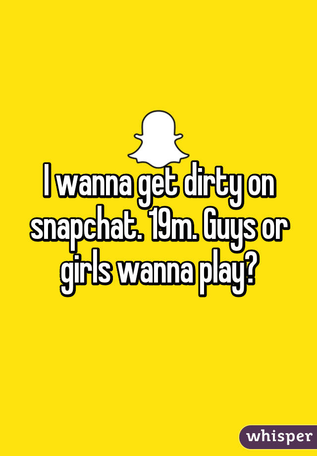 How to get dirty pics on snapchat