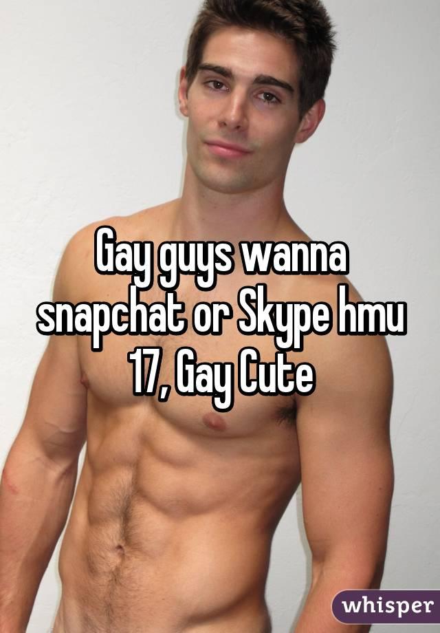 Gay people snapchat