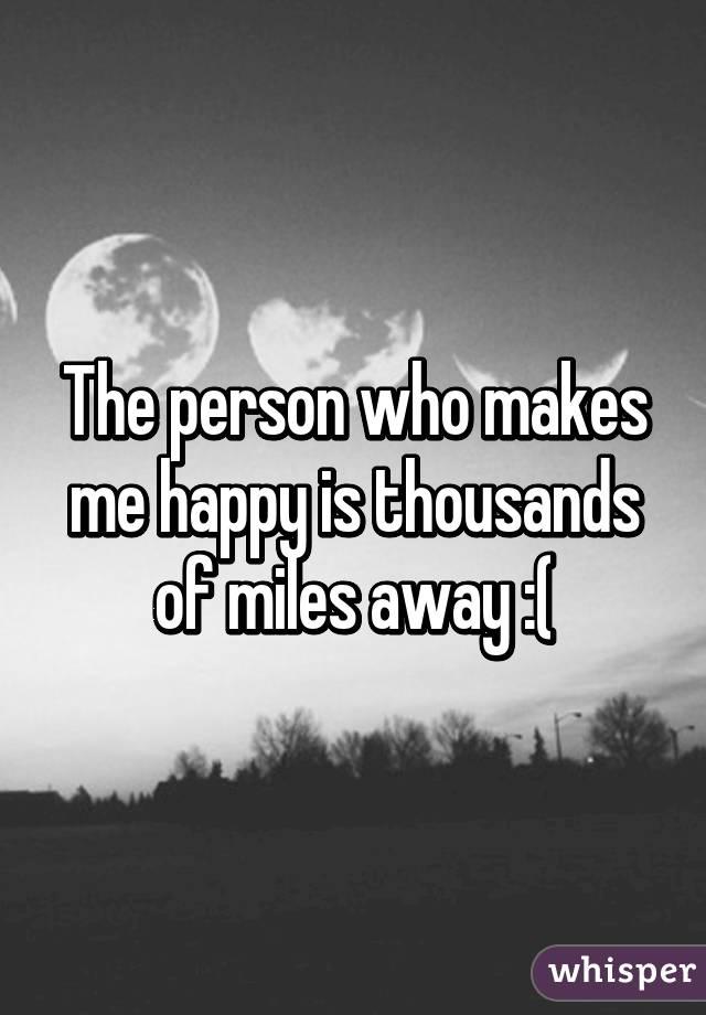 who makes me happy
