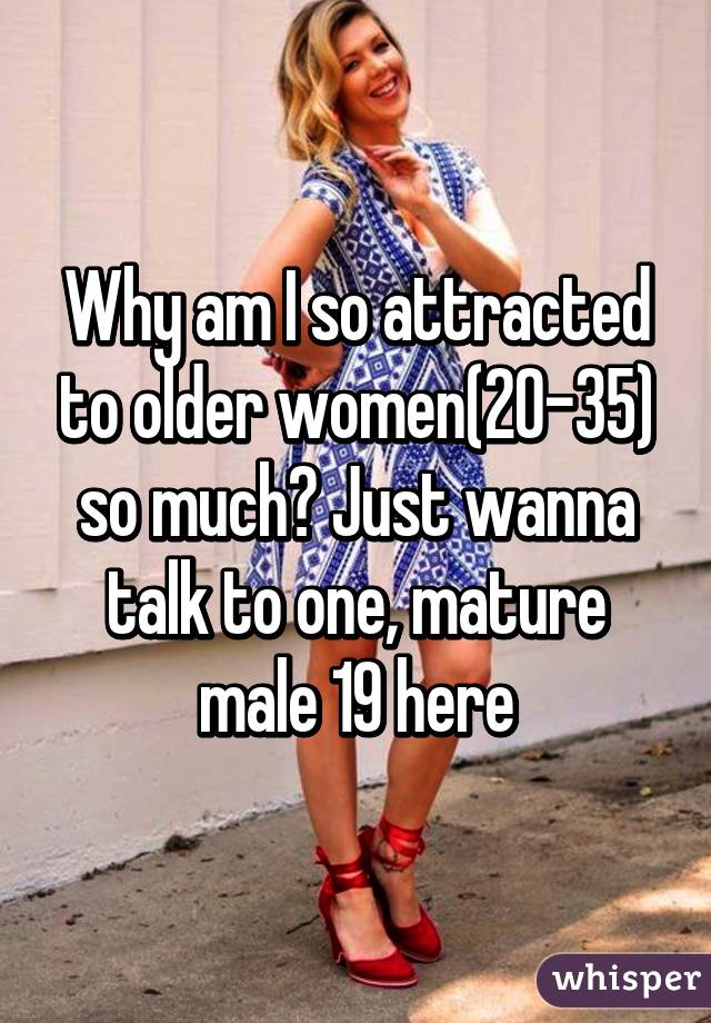 women attracted to older women