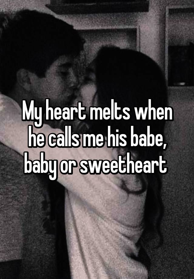 You He Mean What Sweetheart It Does When Calls