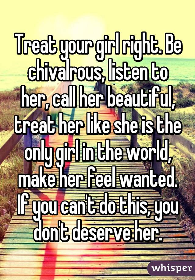 Things to say to make a girl feel beautiful