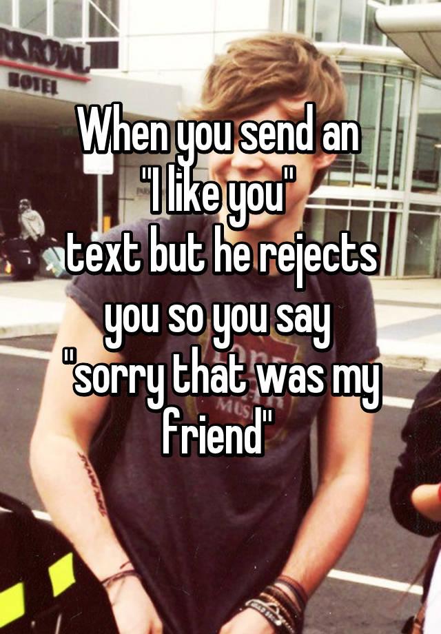 When you send an