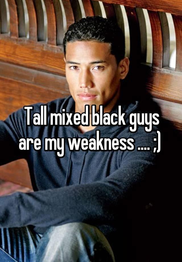 Mixed black guys