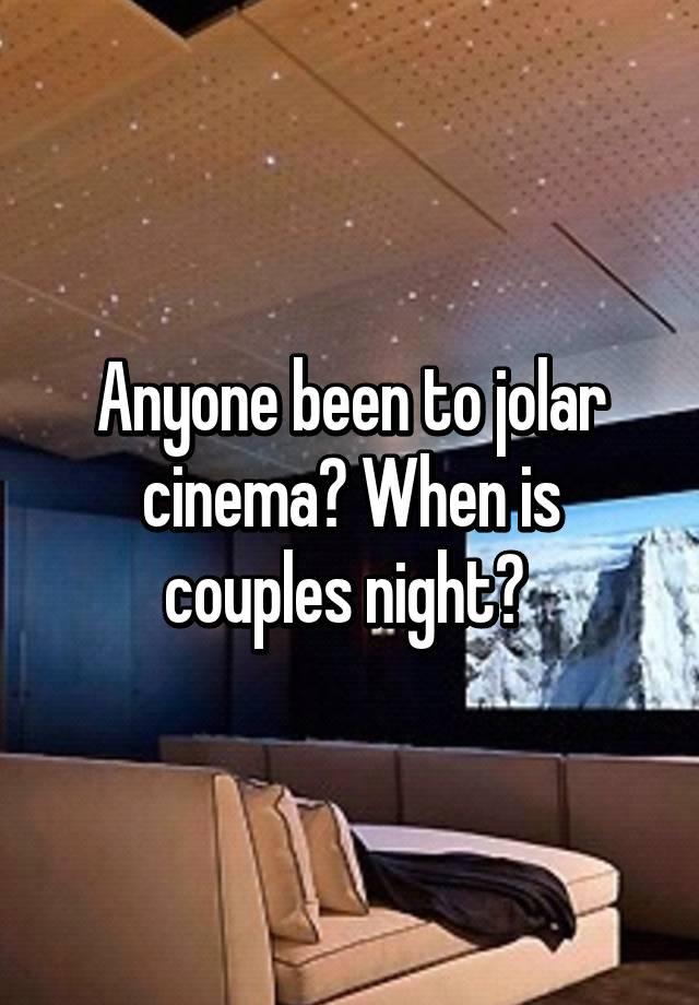 Jolar cinema san diego ca