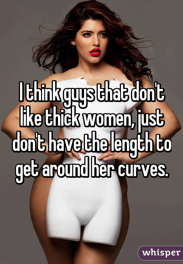 Thick women with curves