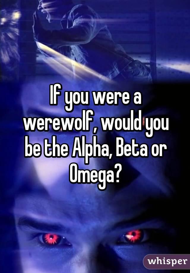Werewolf dating tips