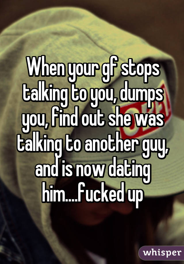 Signs she is dating other guys