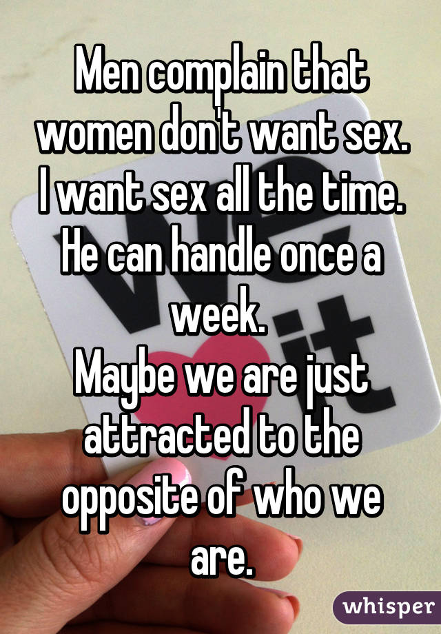 Women who want sex all the time