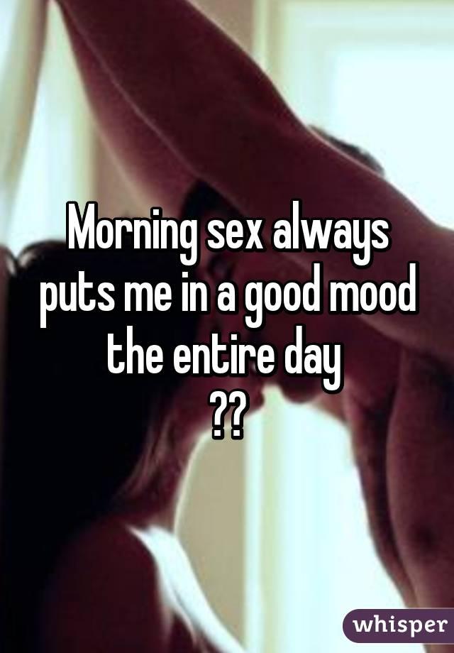 Good morning sex photo