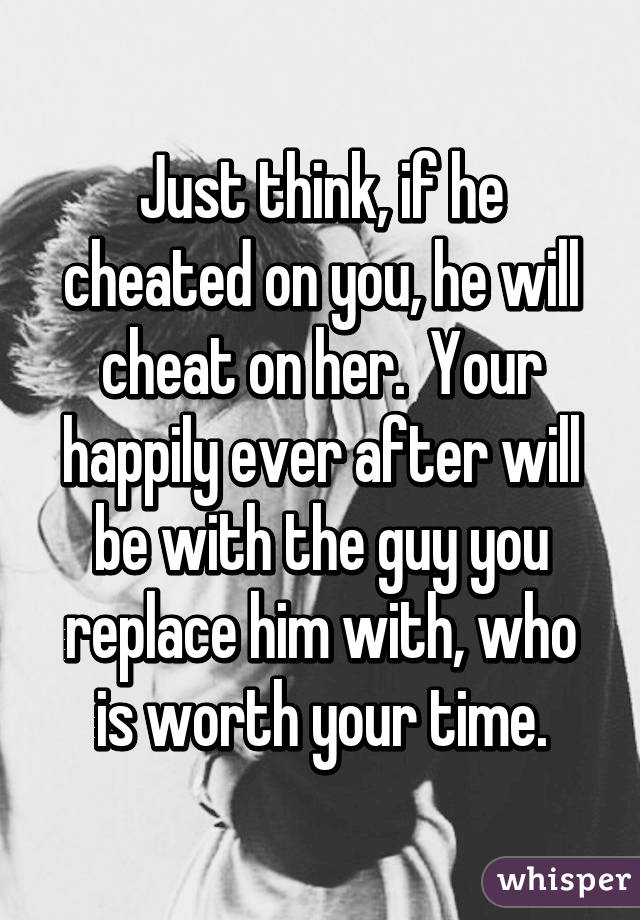 what to do if he cheats