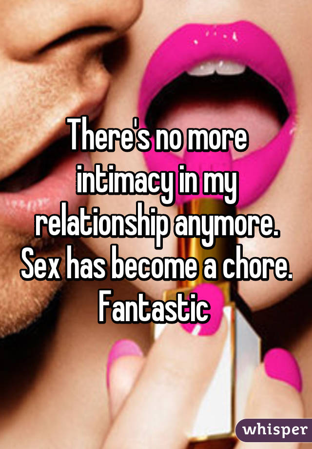 No sex in my relationship