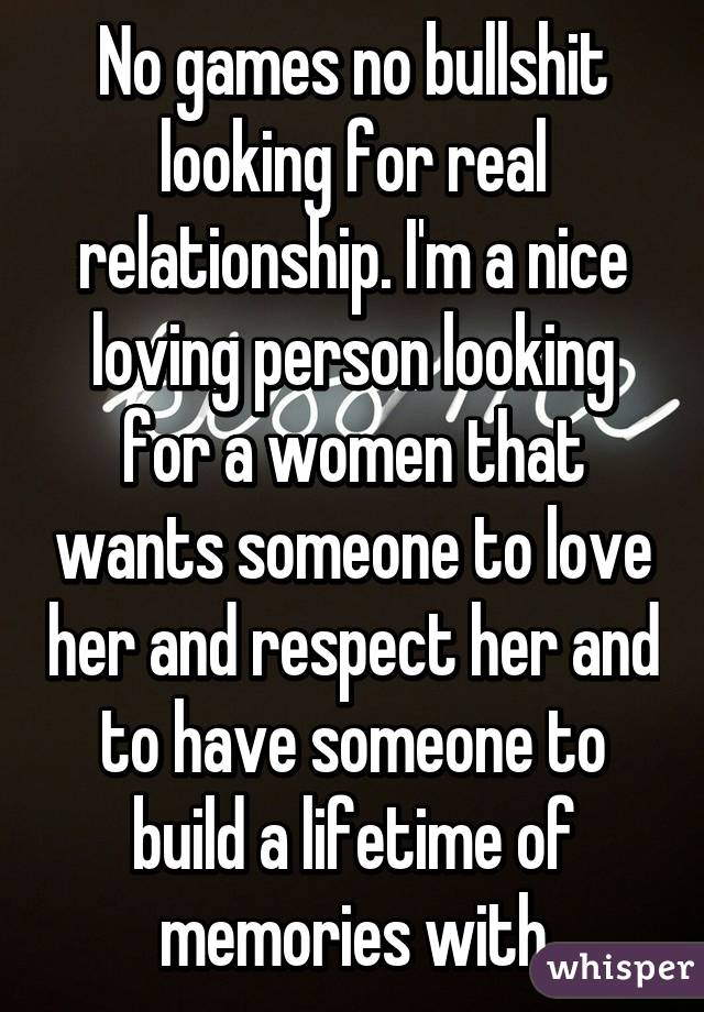 I m looking for someone to love