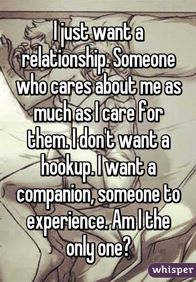 Hookup someone when is it a relationship