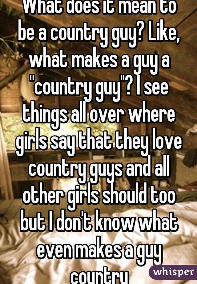 Things girls should know about guys