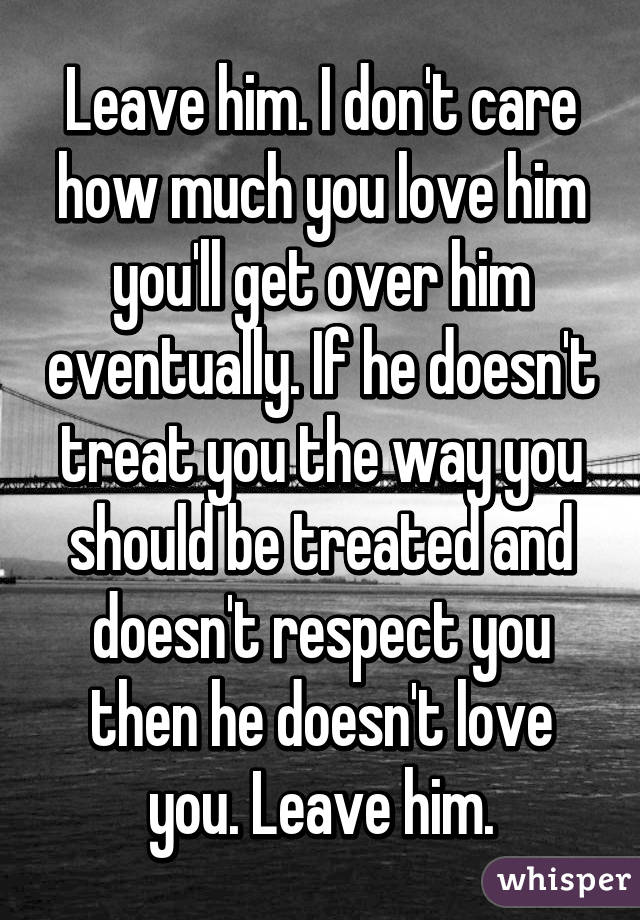 How To Get Over A Man You Love