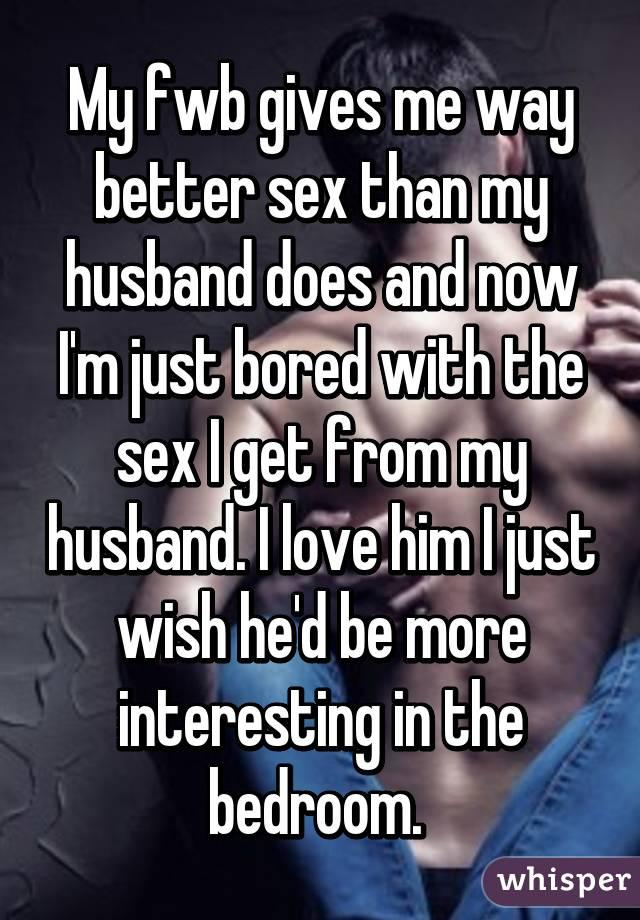 husband sex Better