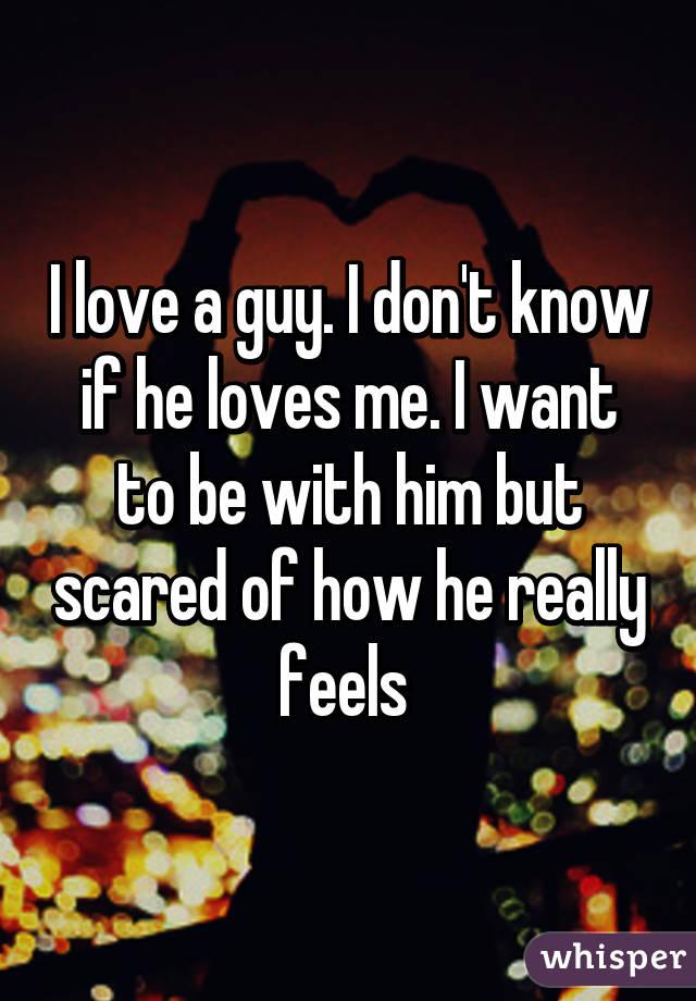 how do i know if he really likes me