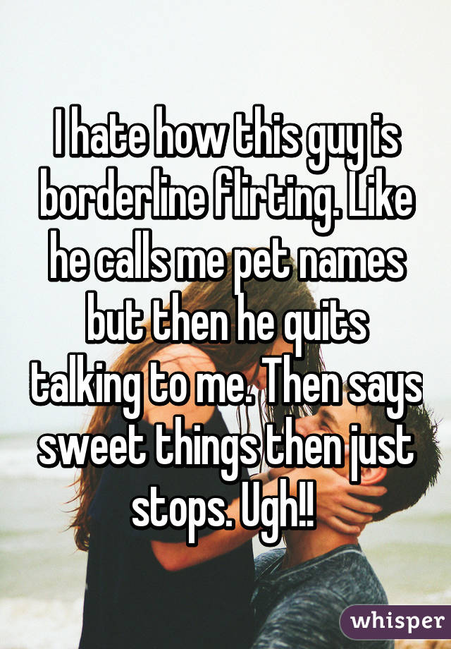 guy pet names they like