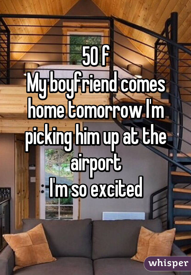 picking a guy up from the airport