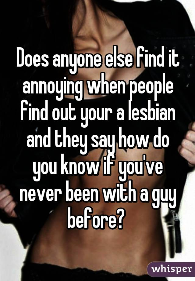 How to find out if you are a lesbian