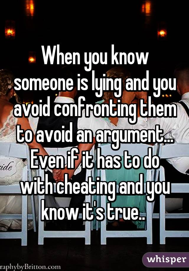 how to find out if someones cheating on u