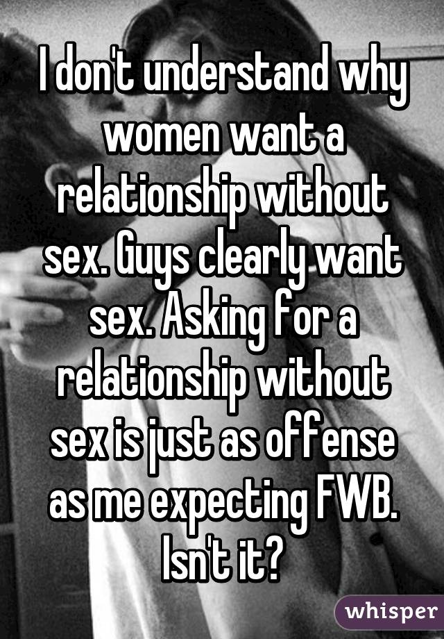 I don t understand sex