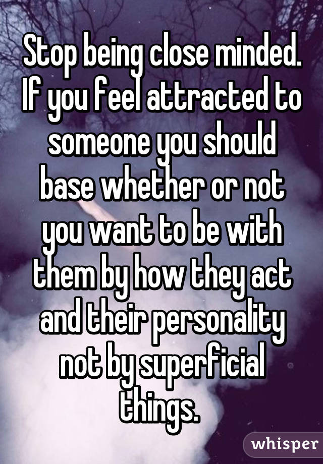 How to stop being attracted to someone