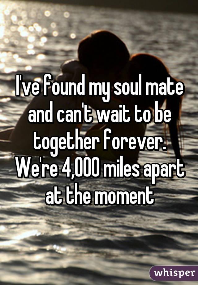 How do i know i ve found my soulmate