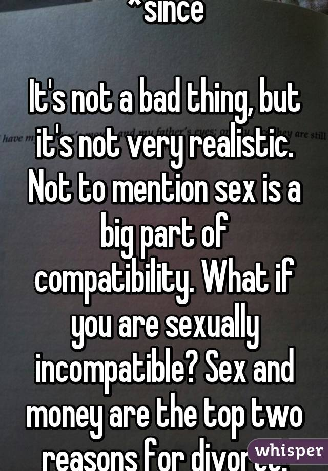 Is sex a bad thing
