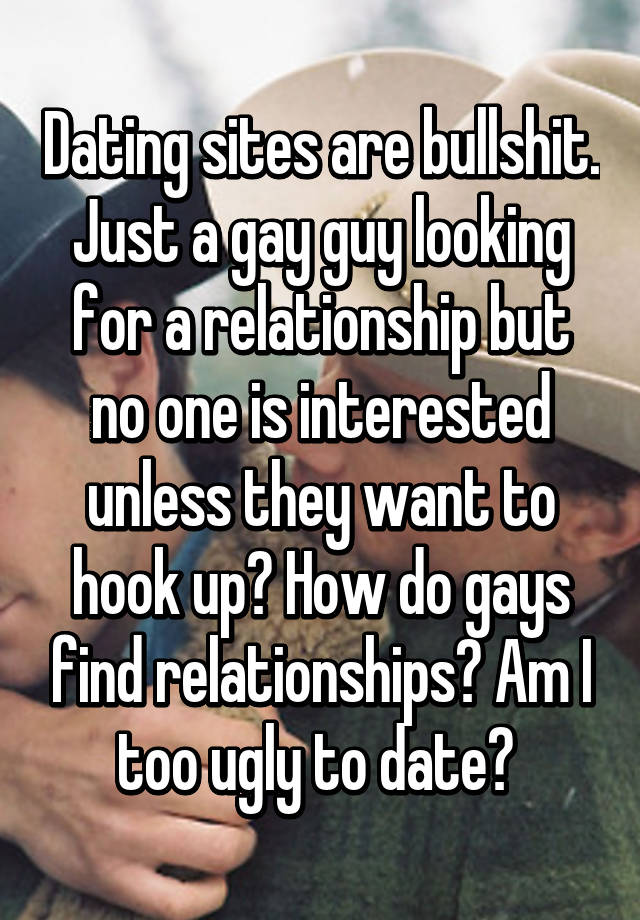 Gay relationship dating sites