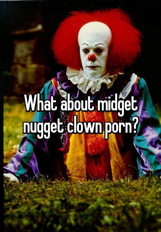 Midget porn clowns