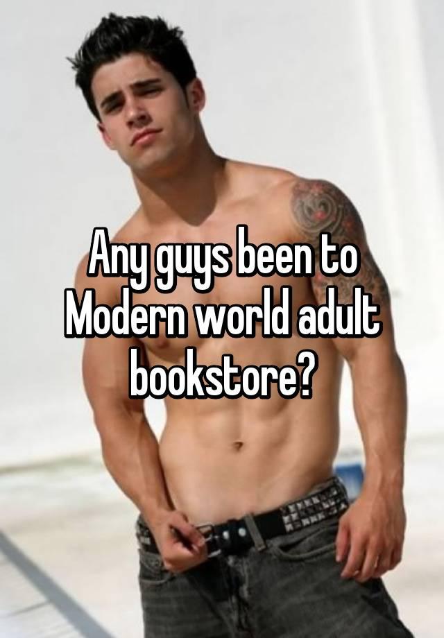 Modern world adult bookstore