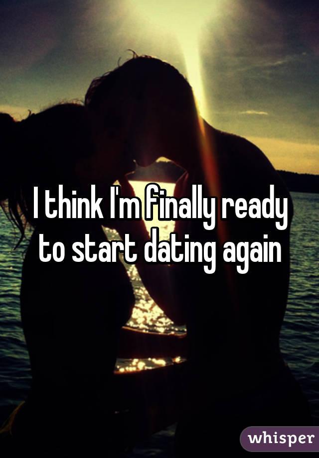 When Do I Start Dating Again
