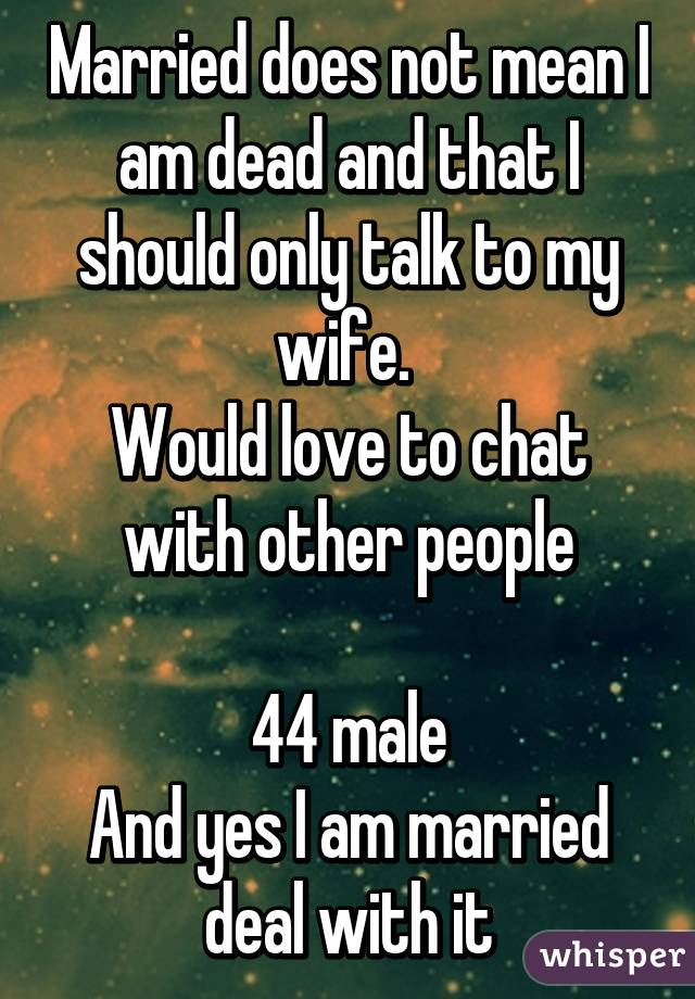 married people chat