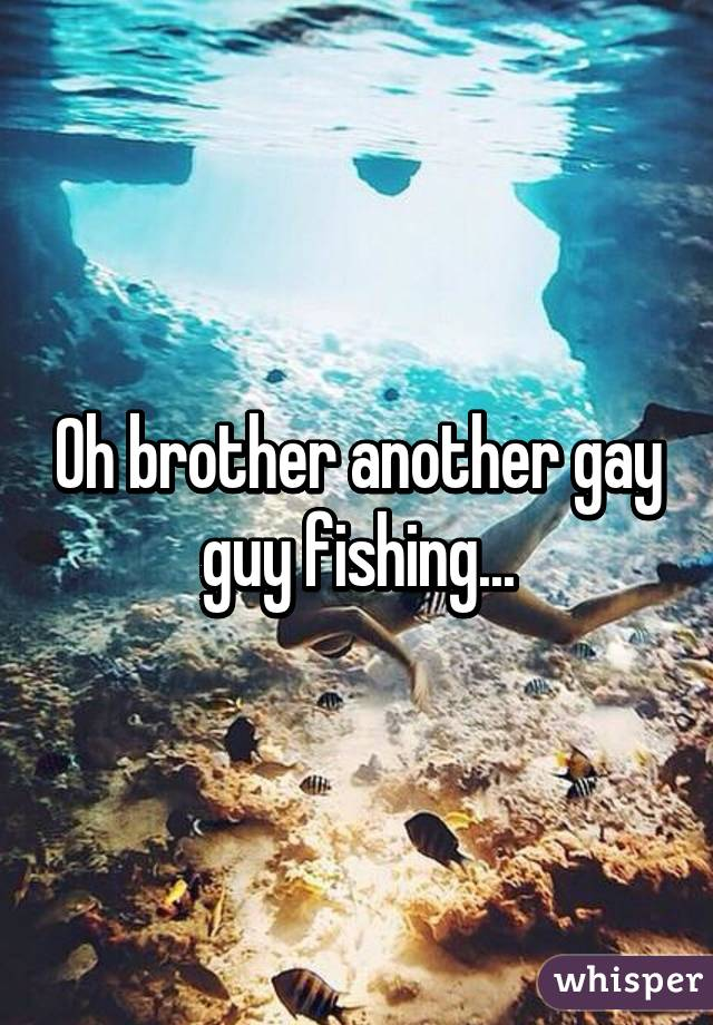 Gay guys fishing