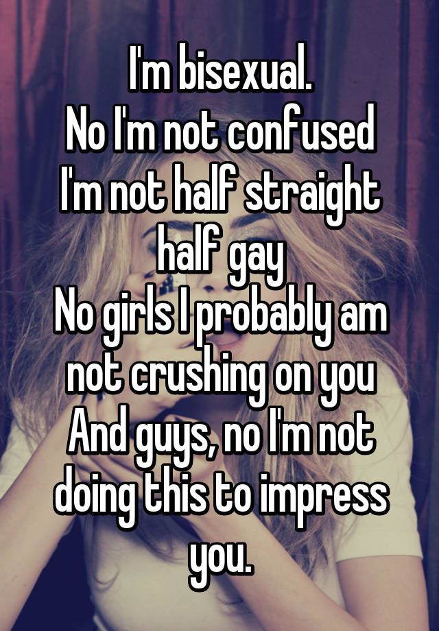 Confused gay or not