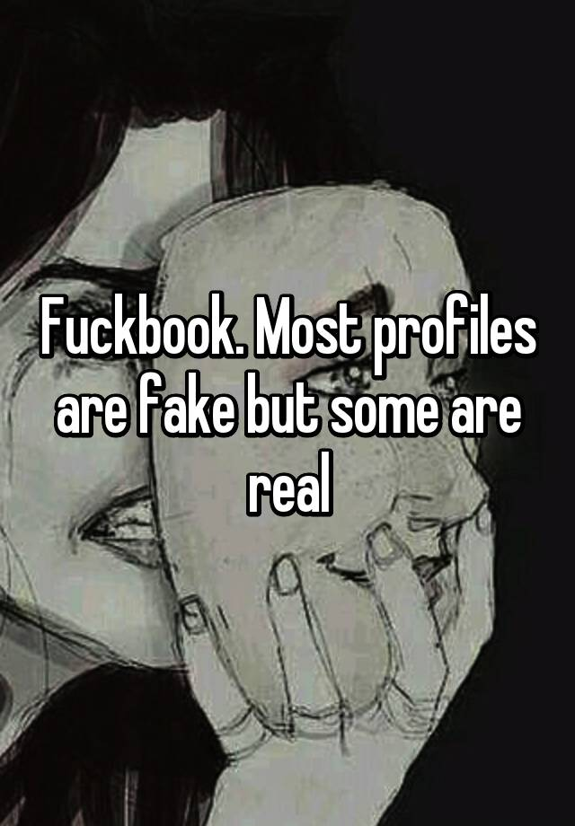 Fuckbook real or fake