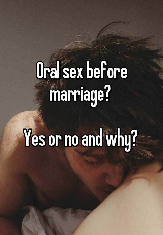 Marriage and oral sex pics 188