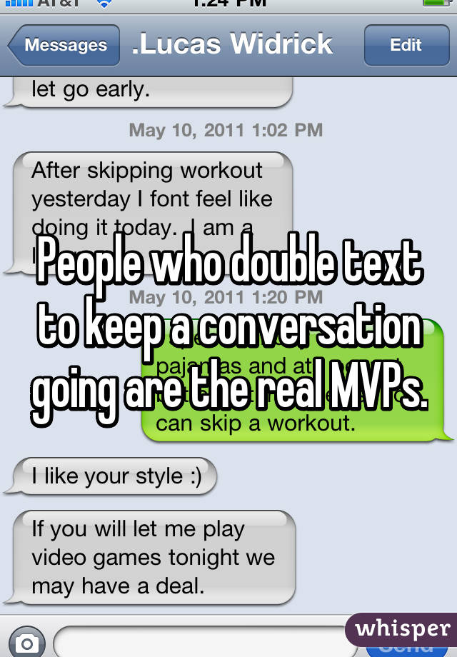 How To Keep A Text Conversation Going