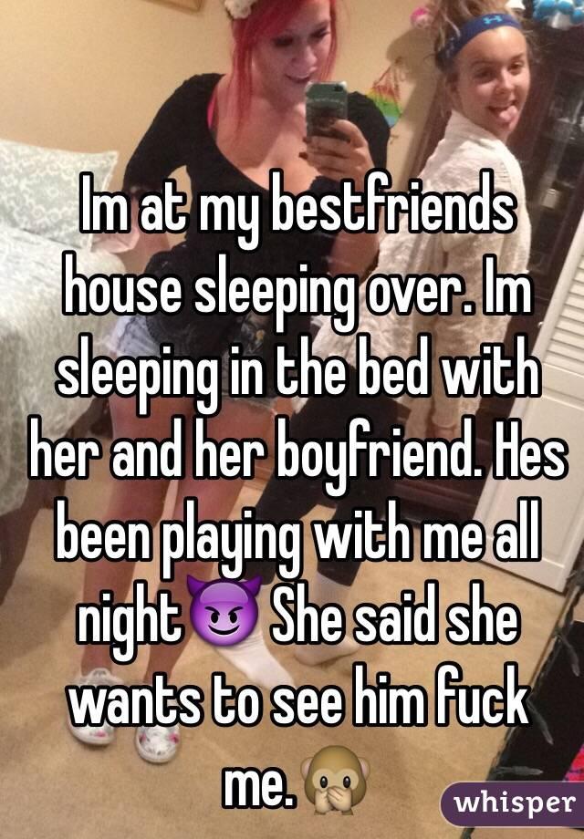 She said fuck me