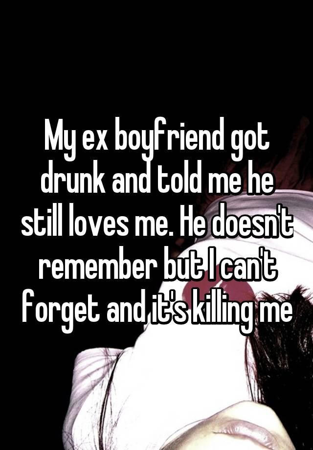 how do i forget my ex boyfriend