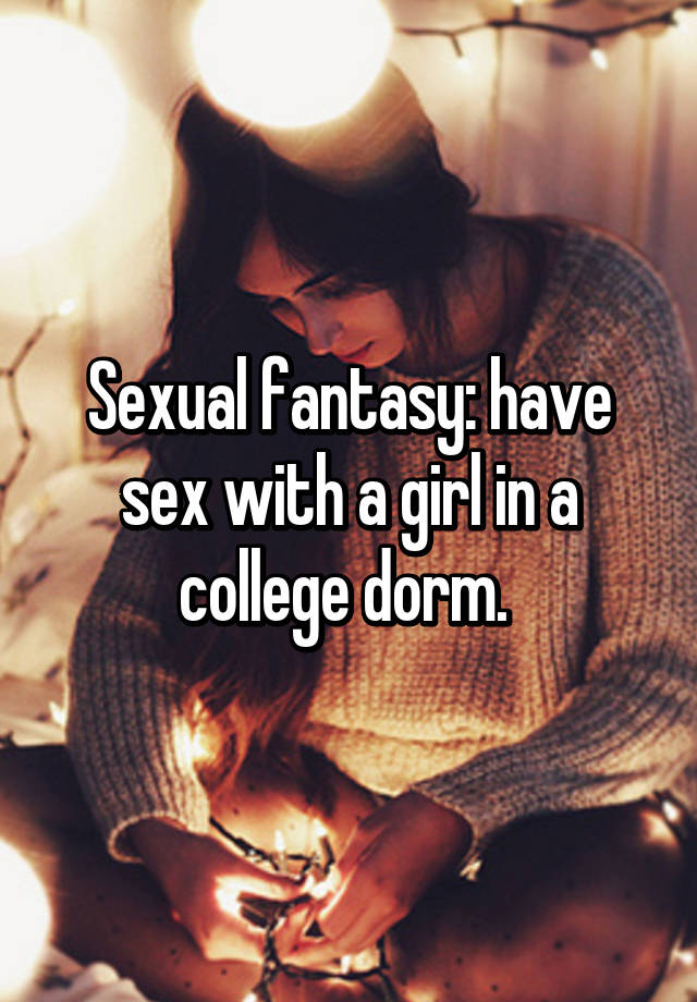 College fantasy girl