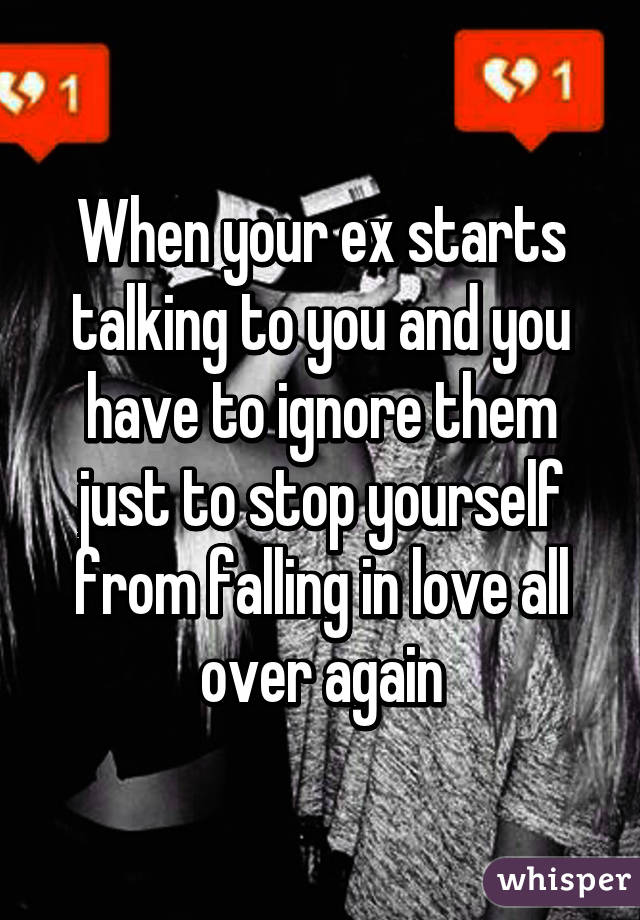 and if i am ever fall in love again