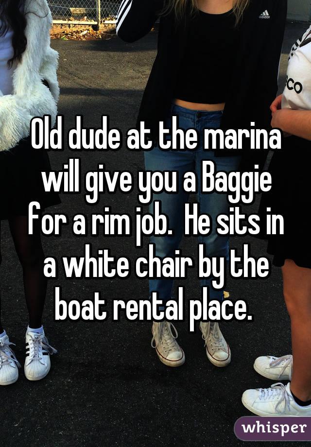 3 dudes and a rim chair