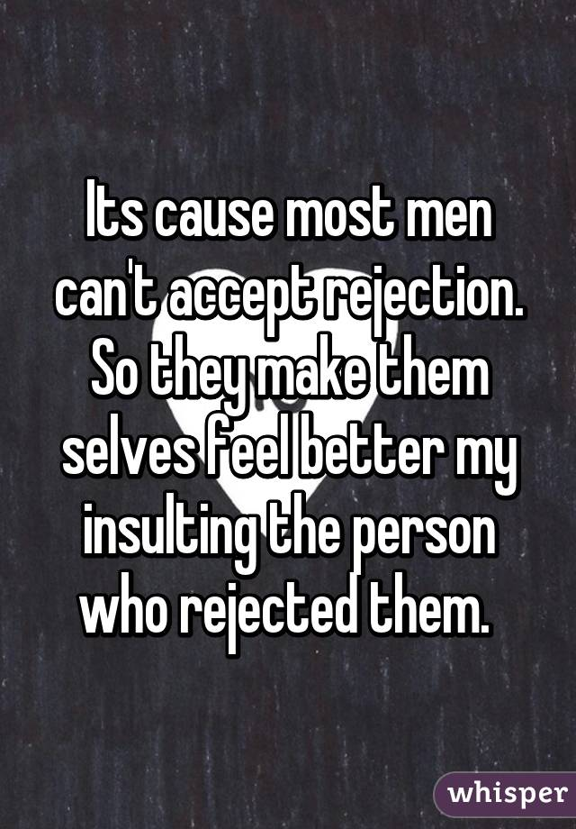 MINNIE: How to accept rejection in a relationship